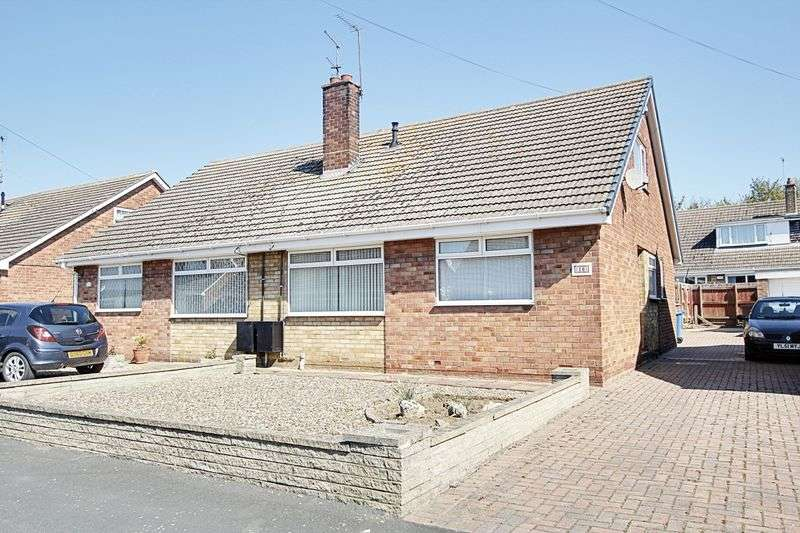 3 Bedrooms Semi Detached Bungalow for sale in Summergangs Drive, Thorngumbald
