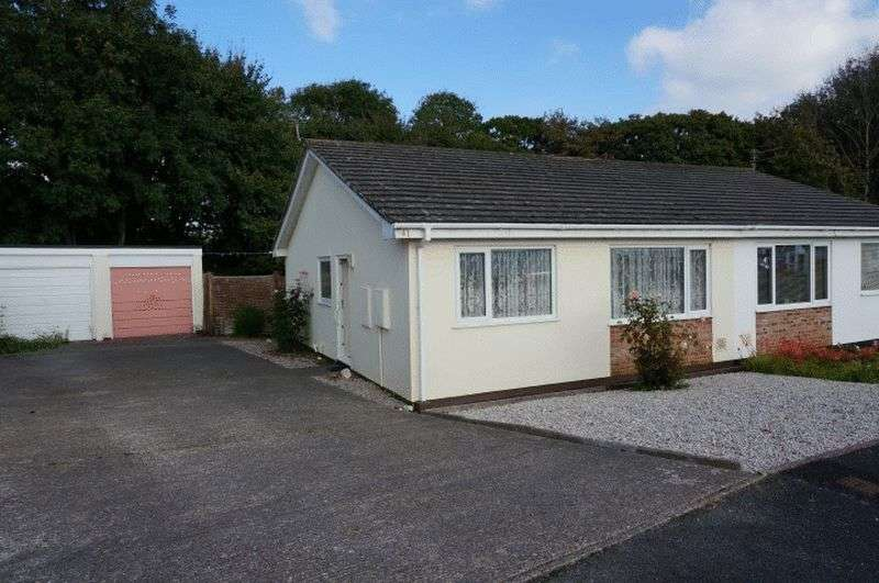 2 Bedrooms Semi Detached Bungalow for sale in East Fairholme Road, Bude