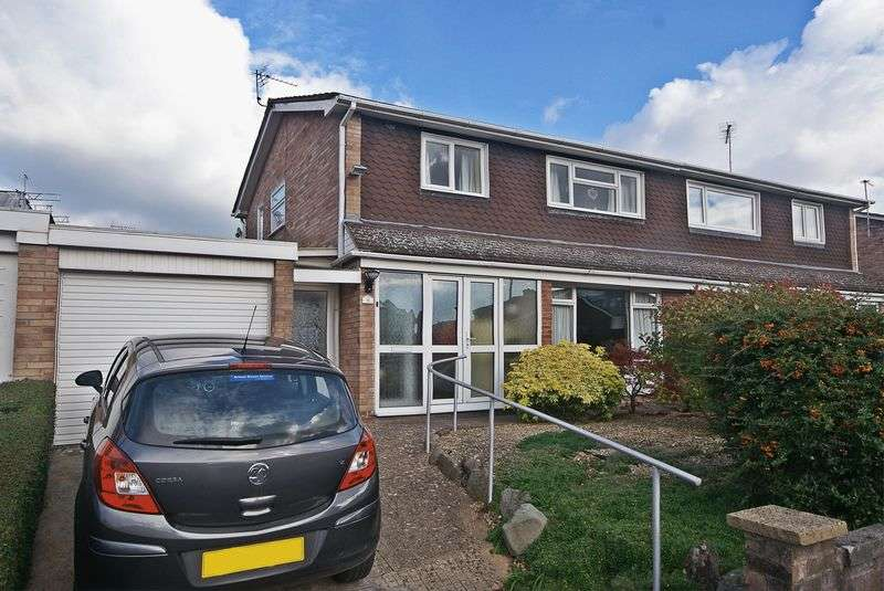 3 Bedrooms Semi Detached House for sale in Bladon Crescent, Hereford