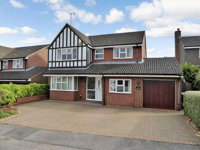 4 Bedrooms Detached House for sale in Cartmel Drive, Dunstable