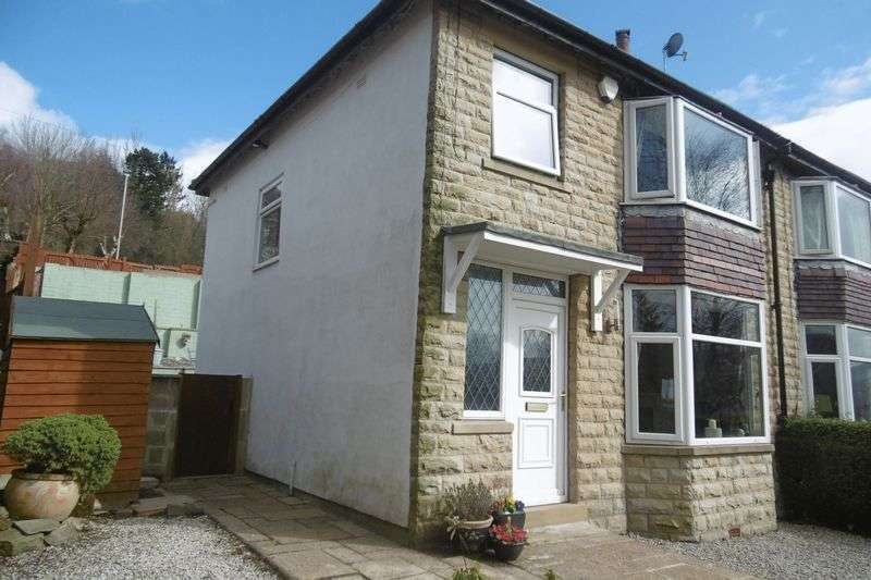 3 Bedrooms Semi Detached House for sale in Oak Avenue, Todmorden