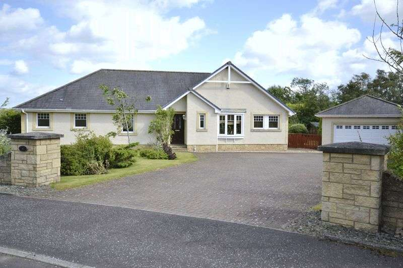 4 Bedrooms Bungalow for sale in Woodlea, 3 Carmaben Brae, Dolphinton, West Linton, EH46 7HF