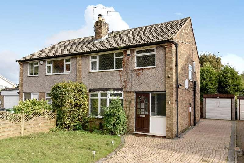 3 Bedrooms Semi Detached House for sale in Parklands Gate, Bramhope, Leeds, LS16 9AG