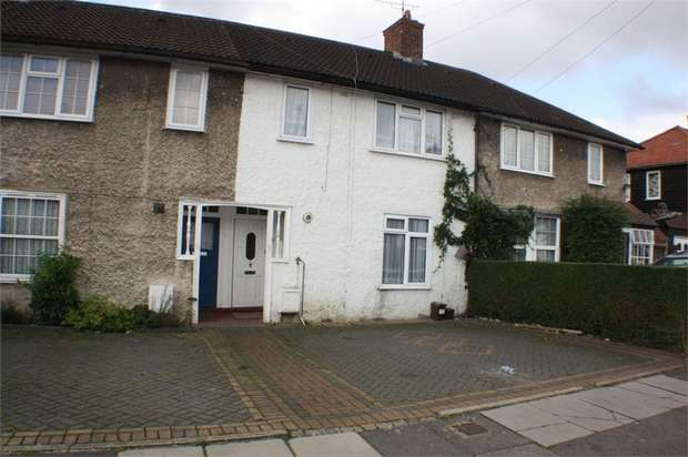 4 Bedrooms Terraced House for sale in Mostyn Road, EDGWARE, Middlesex