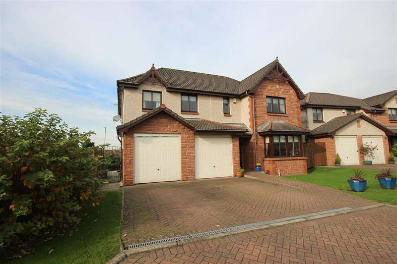 5 Bedrooms Detached House for sale in Brownieknowe Place, New Carron, Falkirk