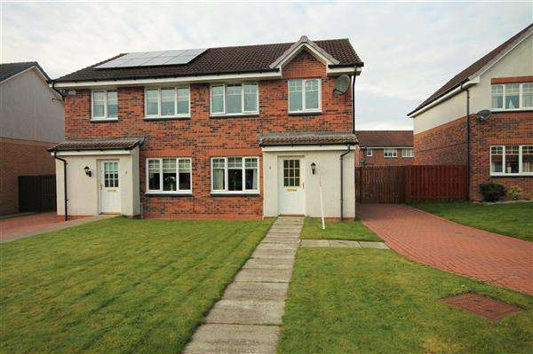 3 Bedrooms Semi Detached House for sale in Fettercairn Place, Airdrie, Airdrie