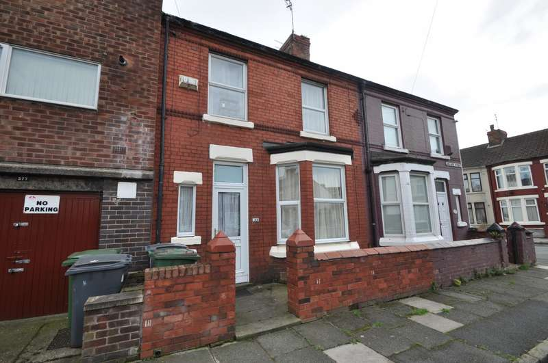 3 Bedrooms House for sale in Adelaide Street, Wallasey