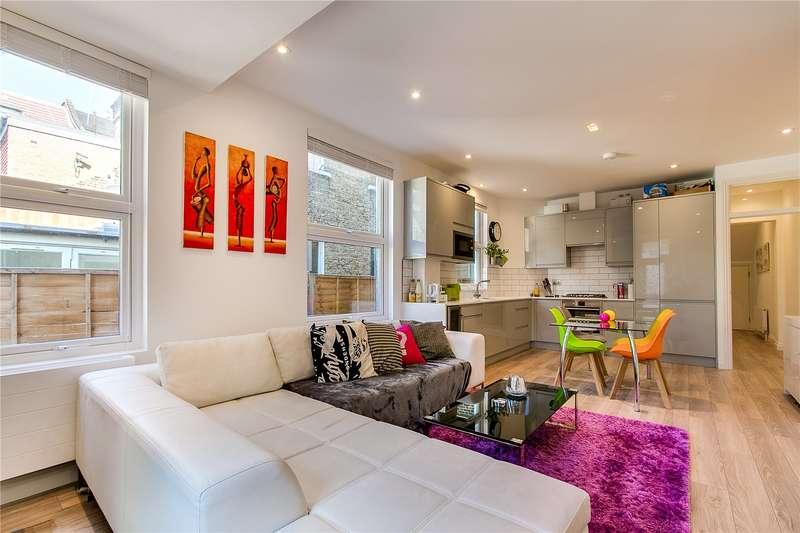2 Bedrooms Maisonette Flat for sale in Lessingham Avenue, London, SW17