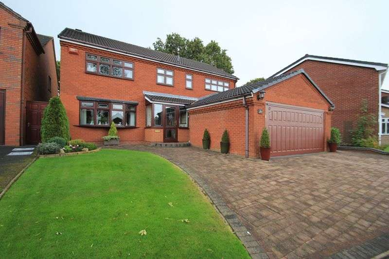 4 Bedrooms Detached House for sale in Holder Drive, Cannock, WS11