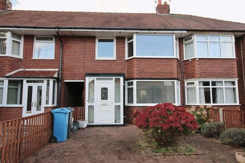 3 Bedrooms Terraced House for sale in 5 Roseway, Poulton-Le-Fylde Lancs FY6 7SE