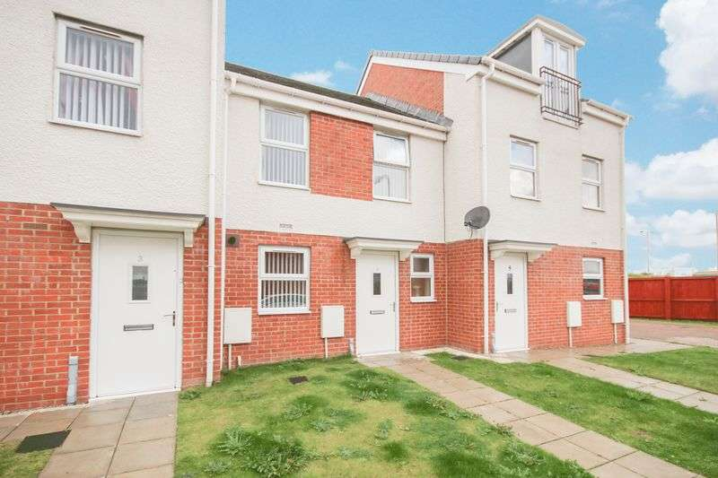 2 Bedrooms Terraced House for sale in Saxon Close, Middlesbrough, TS3 6LU