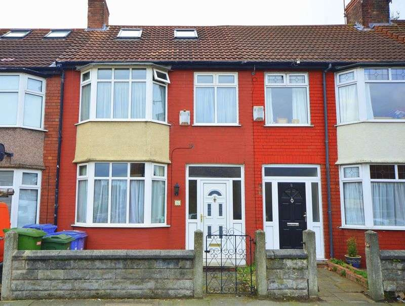 2 Bedrooms Terraced House for sale in Pitville Avenue, Mossley Hill