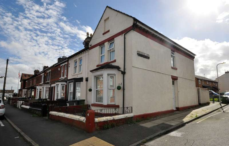 2 Bedrooms End Of Terrace House for sale in Greenwood Lane, Wallasey