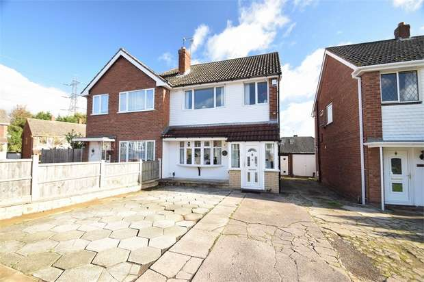 3 Bedrooms Semi Detached House for sale in Andrew Road, WEST BROMWICH, West Midlands