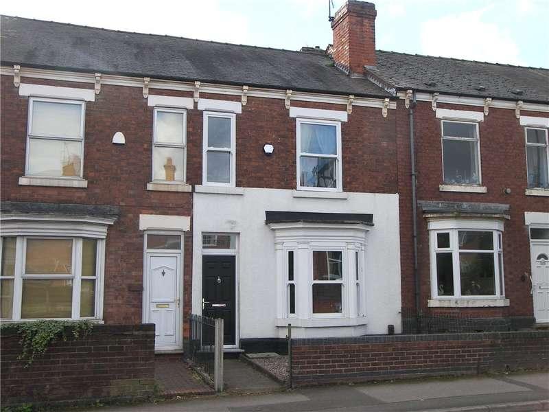 2 Bedrooms Terraced House for sale in Burton Road, Littleover, Derby, DE23