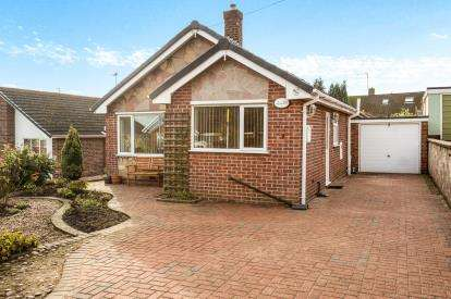 2 Bedrooms Bungalow for sale in Elliott Drive, Inkersall, Chesterfield, Derbyshire