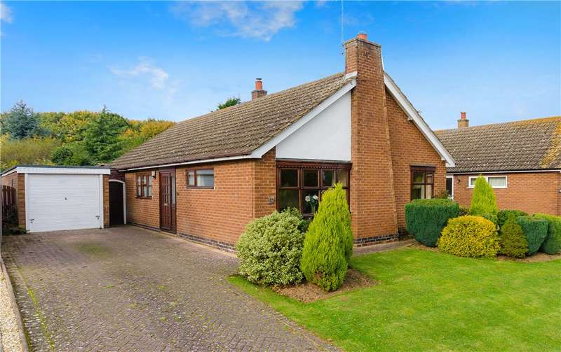 3 Bedrooms Detached Bungalow for sale in Gregory Close, Harlaxton, Grantham, NG32