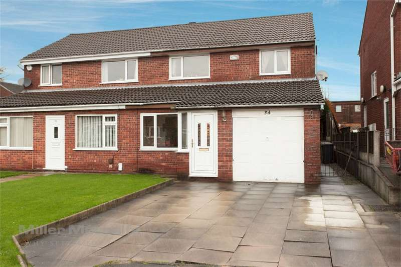 3 Bedrooms Semi Detached House for sale in Lakenheath Drive, Sharples, Bolton, Lancashire