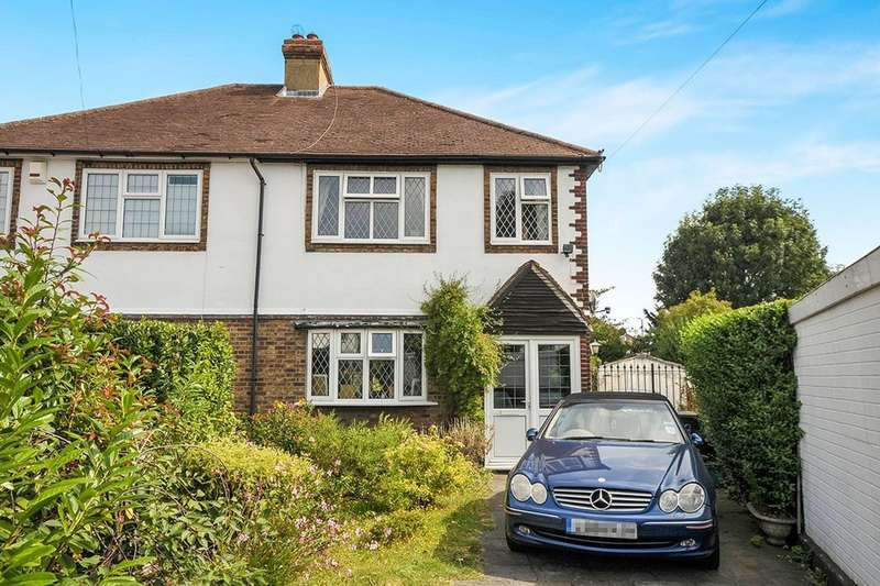 3 Bedrooms Semi Detached House for sale in Briar Gardens, Bromley, BR2