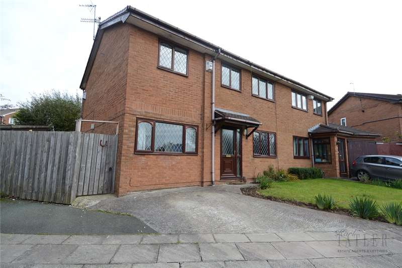 4 Bedrooms Semi Detached House for sale in Griffiths Close, Greasby, Wirral