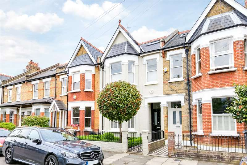 6 Bedrooms Terraced House for sale in Cleveland Gardens, London, SW13