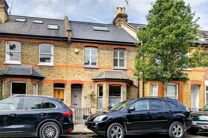 4 Bedrooms Terraced House for sale in Grove Road, London, SW13