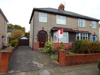 3 Bedrooms Semi Detached House for sale in Caernarvon Avenue, Burnley, Lancashire