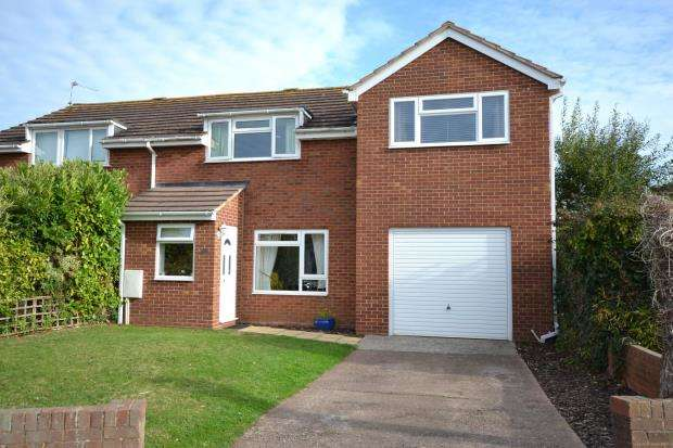 3 Bedrooms Semi Detached House for sale in Hooker Close, Budleigh Salterton, Devon