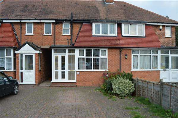 3 Bedrooms Terraced House for sale in Shalford Road, Solihull, Solihull