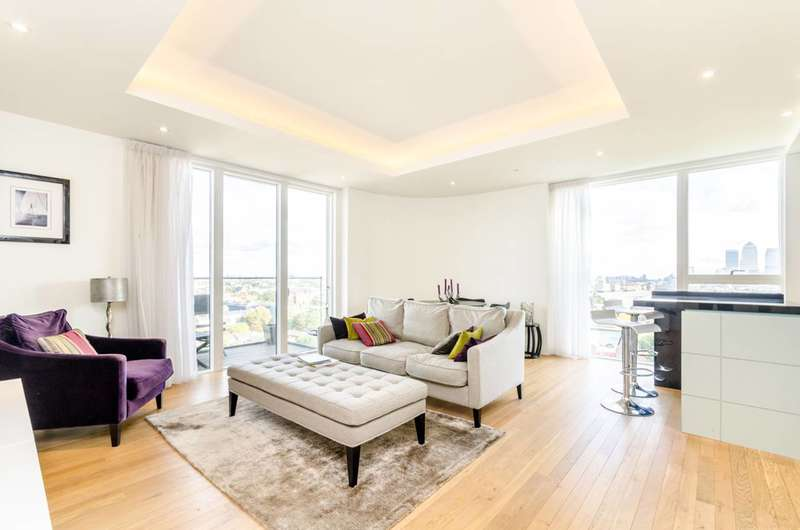 2 Bedrooms Flat for sale in Park Vista Tower, Wapping, E1W