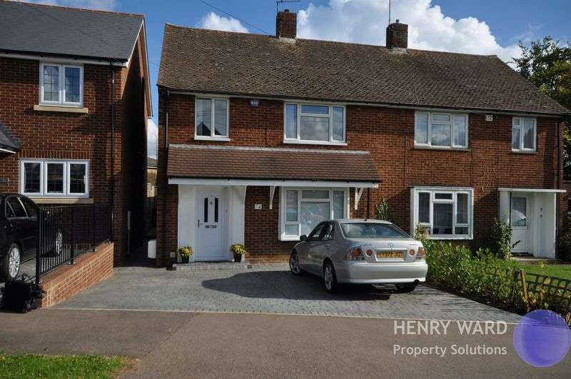 3 Bedrooms Semi Detached House for sale in The Cobbins, Waltham Abbey