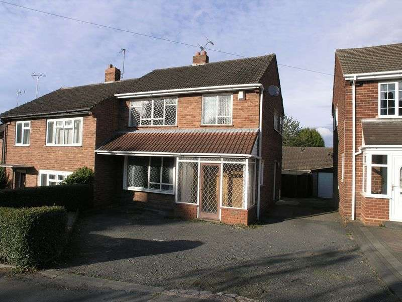 3 Bedrooms Semi Detached House for sale in STOURBRIDGE, Wollaston, Cornwall Road