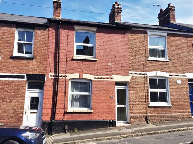 2 Bedrooms Terraced House for sale in 59 Roberts Road, Exeter