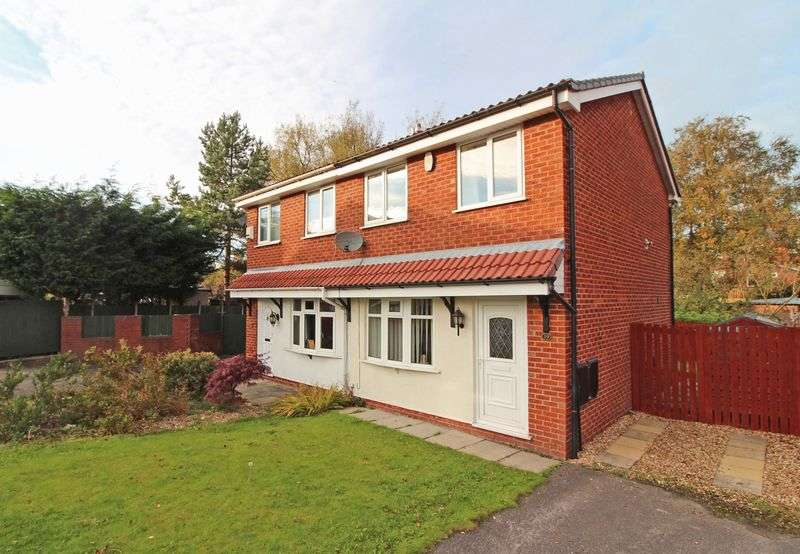 2 Bedrooms Semi Detached House for sale in Hurst Brook, Coppull, Chorley