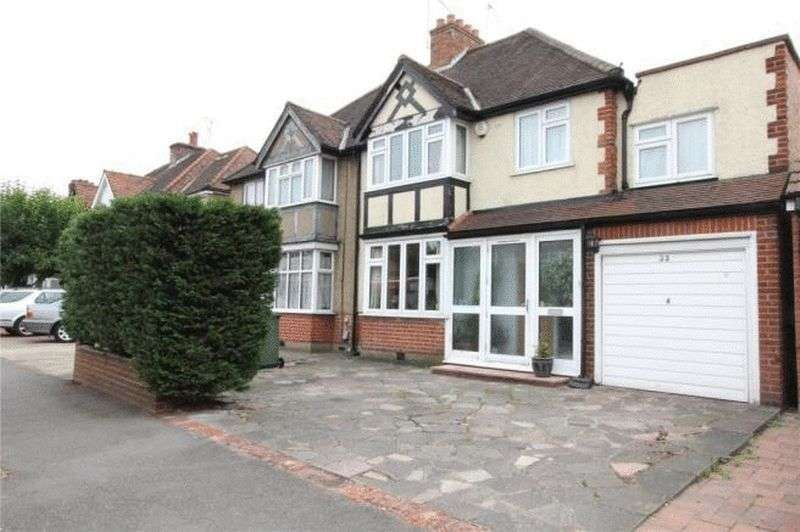 4 Bedrooms Semi Detached House for sale in Parkside Way, North Harrow