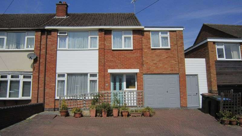 4 Bedrooms Semi Detached House for sale in Alderminster Road, Mount Nod, Coventry