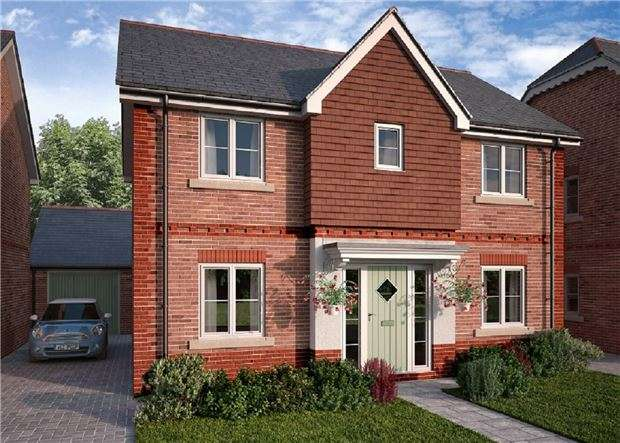 4 Bedrooms Detached House for sale in The Burford+, Badminton Road, Downend, BRISTOL, BS16 6NU