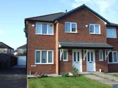 3 Bedrooms Semi Detached House for sale in Russet Close, Crewe, Cheshire