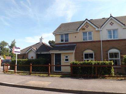3 Bedrooms Semi Detached House for sale in Whiteley, Fareham, Hampshire