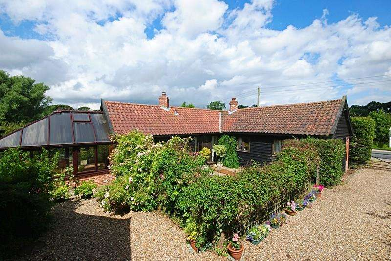 2 Bedrooms Barn Conversion Character Property for sale in Rectory Road, Tivetshall St. Mary, Diss