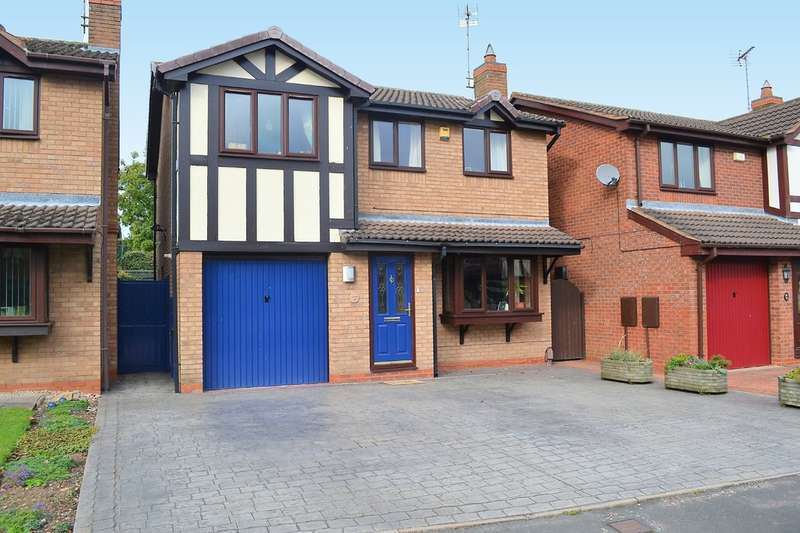 4 Bedrooms Detached House for sale in Wordsworth Close, Armitage, Near Rugeley