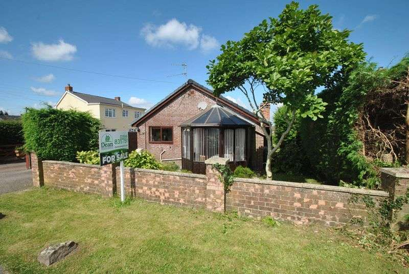 2 Bedrooms Detached Bungalow for sale in BERRY HILL, NR. COLEFORD, GLOUCESTERSHIRE