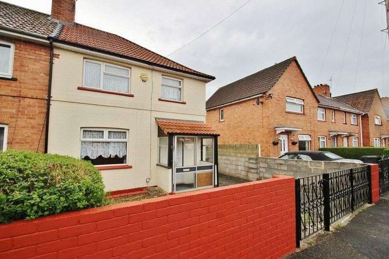 3 Bedrooms Semi Detached House for sale in Crediton Crescent, Knowle, Bristol