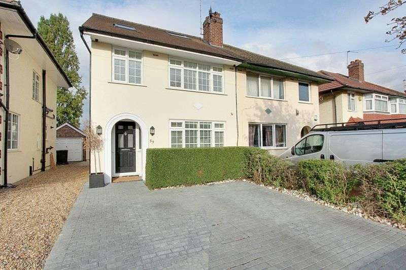 4 Bedrooms Semi Detached House for sale in Daryngton Drive, Greenford