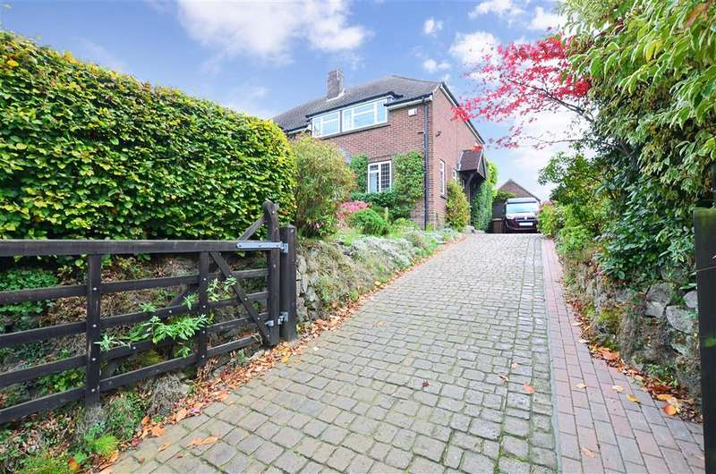 3 Bedrooms Semi Detached House for sale in Roseacre Lane, Bearsted, Maidstone, Kent