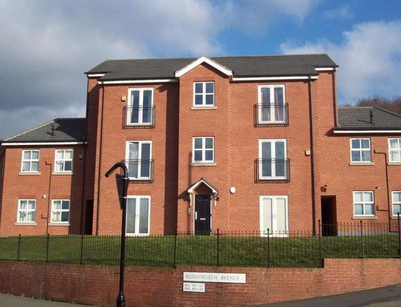 2 Bedrooms Flat for sale in Wordsworth Court, Sheffield, S5