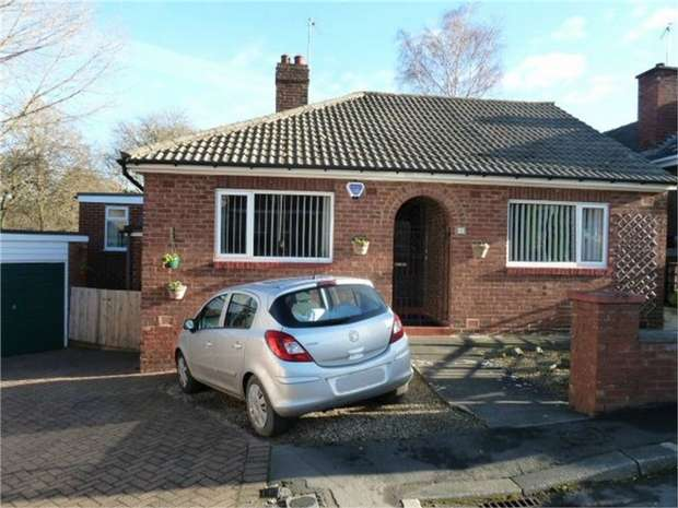 2 Bedrooms Detached Bungalow for sale in The Close, Consett, Durham