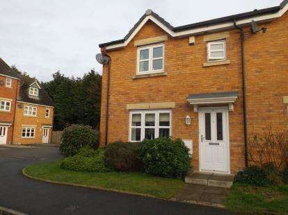 3 Bedrooms End Of Terrace House for sale in Mariners Way, Irlam, Manchester, Irlam