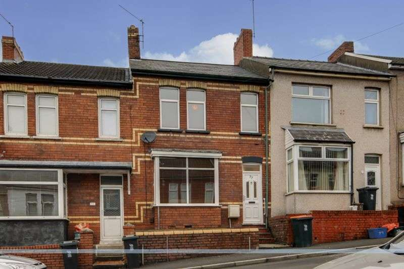 2 Bedrooms Terraced House for sale in Redland Street, Newport