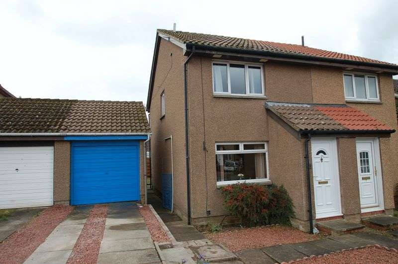 2 Bedrooms Semi Detached House for sale in Cooper Court, Carnwath